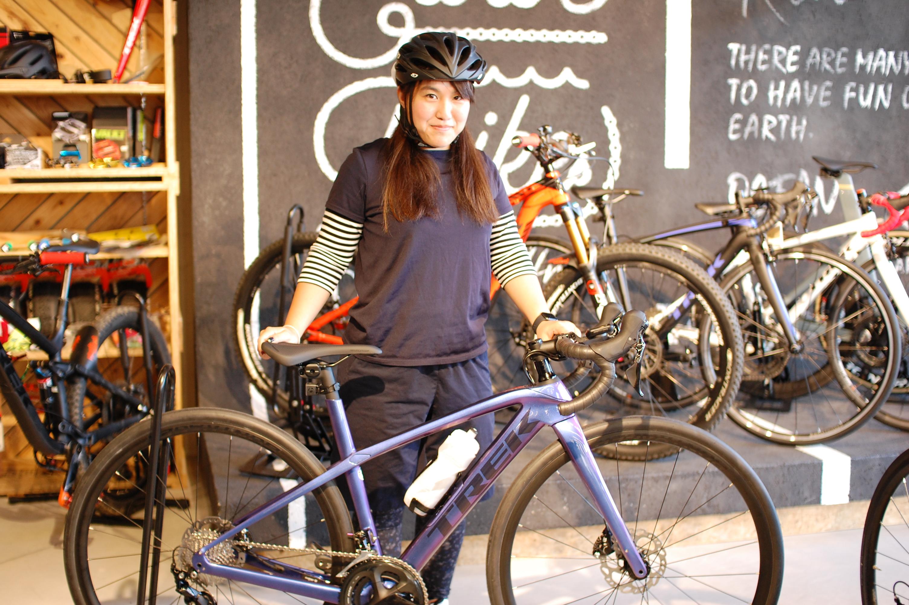 クロスバイク購入から一ヶ月!やっぱりロードバイクが欲しいです♪今週のピックアップバイク『TREK(トレック)DOMANE SL5(ドマーネ …